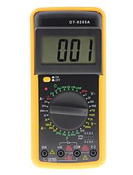Недорогие -цифровой мультиметр dt-9205a тестер сопротивления ёмкости