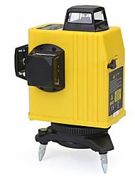 Недорогие -12 линия 3d 360 инфракрасный лазерный уровень самовыравнивающийся вертикальный& горизонтальный горизонтальный крест