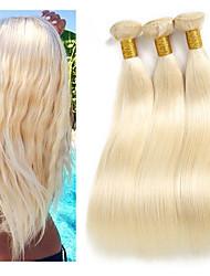 cheap -3 Bundles Brazilian Hair Straight Remy Human Hair Human Hair Extensions 10-26 inch Natural Human Hair Weaves Best Quality New Arrival Hot Sale Human Hair Extensions
