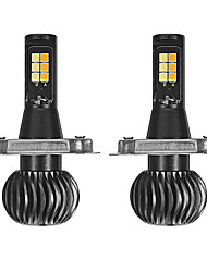 cheap -H7 / H4 / H3 Light Bulbs 15 W SMD 3030 1200 lm 12 LED Fog Lights / Headlamps For universal / Volkswagen / Toyota General Motors All years