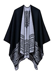 cheap -Sleeveless Shawls / Scarves Imitation Cashmere Wedding / Party / Evening Women's Wrap With Patterned