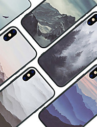 cheap -Case For Apple iPhone XS / iPhone XR / iPhone XS Max Pattern Back Cover Scenery Hard Acrylic