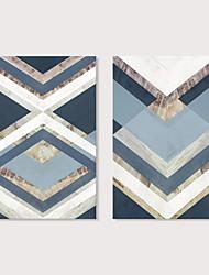 cheap -Print Stretched Canvas Prints - Abstract Modern Modern Art Prints