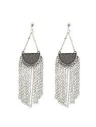 cheap -Women's Drop Earrings Vintage Earrings Jewelry Silver For Bar 1 Pair