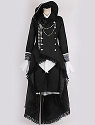 cheap -Inspired by Black Butler Cosplay Anime Cosplay Costumes Japanese Cosplay Suits Contemporary More Accessories / Costume For Men's / Women's