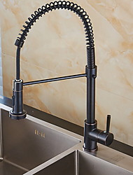 cheap -Kitchen faucet - Single Handle One Hole Electroplated Standard Spout Free Standing Ordinary Kitchen Taps / Brass