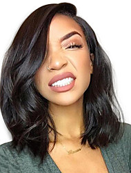 cheap -glueless short bob lace front human hair lace wigs with baby hair 100% brazilian virgin human hair 8-14 short bob lace front wigs natural hairline