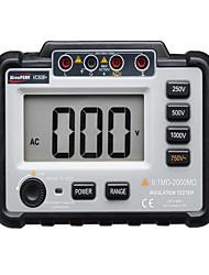 Недорогие -vc60b + цифровой тестер сопротивления изоляции мегомметр мегомметр 250/500/1000 В постоянного тока