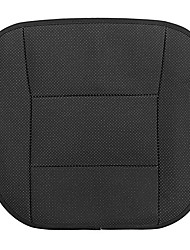 cheap -Universal 53x50cm Black PU Leather Front Car Seat Cover Chair Cushion Protector Pad Mat