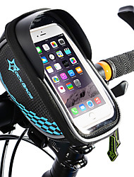 cheap -ROCKBROS Cell Phone Bag Bike Frame Bag Top Tube Bike Handlebar Bag Touch Screen Reflective Waterproof Bike Bag TPU EVA Polyster Bicycle Bag Cycle Bag iPhone X / iPhone XR / iPhone XS Road Bike
