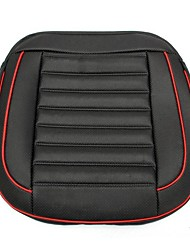 cheap -50x52cm PU Leather Buckwhear Shell Filling Car Cushion Chair Car Seat Cover Auto Interior Pad Mat