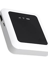 abordables -haute vitesse déverrouiller 3g wifi portable hotspot portable mifi prise carte sim 5200mah