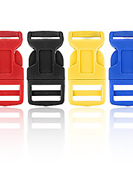 cheap -Plastic Contoured Side Release Buckles Belts for Paracord Bracelet