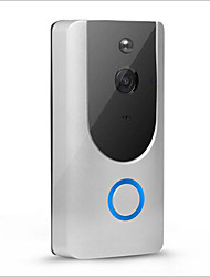 cheap -Wireless 2.4GHz Built in out Speaker No Hands-free 1280*720 Pixel One to One video doorphone