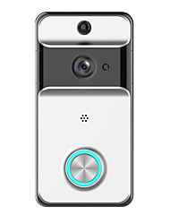 cheap -Factory OEM Wireless 2.4GHz Built in out Speaker No Hands-free 1280*720 Pixel One to One video doorphone
