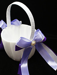 "cheap -Flower Basket Others 8 3/5"" (22 cm) Faux Pearl / Satin Bow 1 pcs"