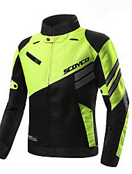 cheap -Motorcycle Protective Long Distance Ride Armour Jacket for Scoyco JK36