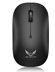 cheap -ZERODATE T18 Wireless 2.4G Gaming Mouse / Office Mouse Led Light 1600 dpi 3 Adjustable DPI Levels 3 pcs Keys 3 Programmable Keys