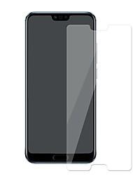 Недорогие -HuaweiScreen ProtectorHuawei Honor 10 Уровень защиты 9H Защитная пленка для экрана 1 ед. Закаленное стекло