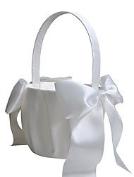"cheap -Flower Basket Others 8 3/5"" (22 cm) Satin Bow 1 pcs"