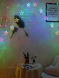 cheap -5m String Lights 136 LEDs 1 set Color-changing Decorative 220-240 V