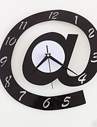 Недорогие -Современный пластик нерегулярный В помещении Аккумуляторы AA Украшение Настенные часы Зеркальное Нет