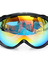 cheap -Unisex Anti Fog UV Dual Lens Winter Racing Outdooors Snowboard Ski Goggles Sun Glassess CRG98-2A