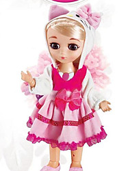 cheap -Fashion Doll Talking Toy Baby Girl 16 inch Silicone - lifelike Smart Remote Control / RC Kids / Teen Kid's Unisex Toy Gift