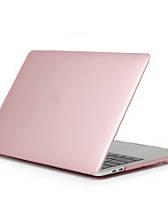 """cheap -MacBook Case Solid Colored Plastic for New MacBook Air 13"""" 2018"""