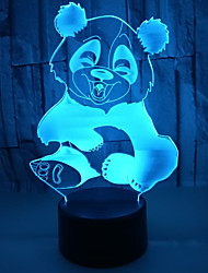 cheap -1pc LED Night Light Color-changing For Children / Cartoon <=36 V