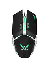 Недорогие -ZERODATE X700 Проводной USB Gaming Mouse / Управление мышью LED подсветка 3200 dpi 4 Регулируемые уровни DPI 7 pcs Ключи 7 программируемых клавиш