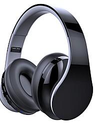 abordables -LITBest Casque sur l'oreille Bluetooth 4.2 Bluetooth 4.2 Cool Stereo Avec Microphone Avec contrôle du volume Voyage et divertissement