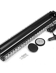 cheap -144W 6000K Car Strobe Beacon Lamp LED Emergency Warning Light Bar Amber
