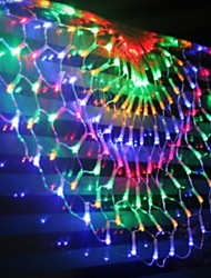 cheap -6m String Lights 504 LEDs Multi Color Decorative 220-240 V 1 set