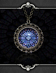 cheap -Vampire Dracula Pendant Necklace Gothic Medieval Glass Alloy For Party Masquerade Birthday Men and Women Costume Jewelry Fashion Jewelry / 1 Necklace / 1PC Pendant