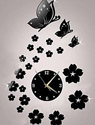 cheap -Wall Clock,Modern Style Plastic Irregular Indoor