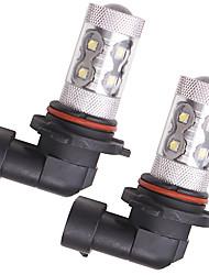 cheap -OTOLAMPARA 2pcs BA15S(1156) / H10 / H9 Car Light Bulbs 50 W SMD 335 1600 lm 10 LED Fog Lights For Honda / Chevrolet / Citroen Elysee / Malibu / Odyssey 2018 / 2017 / 2019