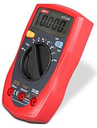 Недорогие -мультиметр размера ладони uni-t ut33a; тест сопротивления / емкости / температуры / ncv, подсветка