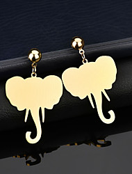 cheap -Women's Drop Earrings Classic Animal Classic Gold Plated Earrings Jewelry Gold For Gift Street Holiday 1 Pair