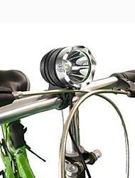 Недорогие -Светодиодные фонари Водонепроницаемый Перезаряжаемый 1000 lm Светодиодная лампа LED 1 излучатели 3 Режим освещения с зарядным устройством Водонепроницаемый Перезаряжаемый / Алюминиевый сплав