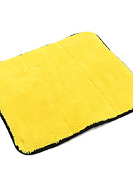 cheap -Car Wash Drying Cloth Soft Dual Sided Microfiber Cleaning Towel Multifunctional