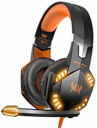 cheap -KOTION EACH G2000 Gaming Headsets Big Headphones with Light Mic Stereo Earphones Deep Bass for PC Computer Gamer Laptop PS4 New X-BOX