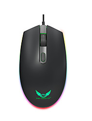 cheap -ZERODATE S900 Wired USB Gaming Mouse / Office Mouse Led Light 1600 dpi 3 Adjustable DPI Levels Keys 3 Programmable Keys