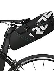 cheap -ROSWHEEL 8/10 L Bike Saddle Bag Reflective Adjustable Large Capacity Bike Bag Leather Polyester Bicycle Bag Cycle Bag Cycling Bike / Bicycle