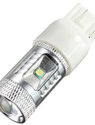 cheap -White 30W 7443 T20 6LED Car Tail Brake Stop Light Bulb Lamp