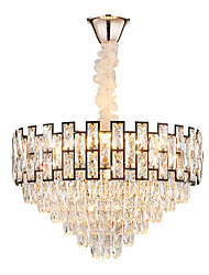 cheap -13 Bulbs QIHengZhaoMing 60 cm Chandelier Crystal Electroplated Traditional / Classic 110-120V / 220-240V