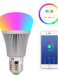 abordables -e27 led smart wifi ampoules 22 led perles smd 5050 fonctionne avec amazon alexa / contrôle de l'application / google home rgbw 85-265v