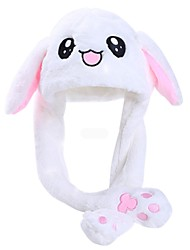 cheap -1 pcs Stuffed Animal Plush Toys Plush Dolls Stuffed Animal Plush Toy Rabbit Hat Adorable Poly / Cotton Blend Flannel Imaginative Play, Stocking, Great Birthday Gifts Party Favor Supplies All