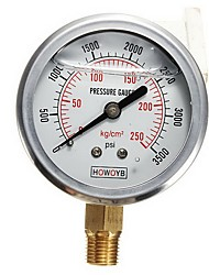cheap -0-3500PSI Car Oil Pressure Gauge Thread