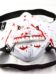 cheap -Mask Inspired by Tokyo Ghoul Cosplay Anime Cosplay Accessories Mask PU Leather Men's New Hot Halloween Costumes
